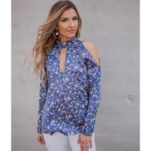 NWT | PPLA | Floral Top